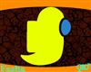 (F) Among Us Yellow Ghos