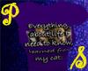 Everything Cat - purple