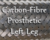 Prosthetic Left Leg
