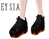 Flame Shoes