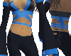 """Bodysuit Blue-black """