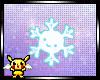Smiling snowflake
