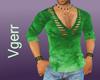 Sexy Green Shirt