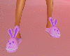 Bunny Slippers Purple