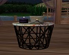 Candlelit End Table