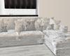 Velvet Grey-couch
