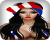 ~KPR~Amy~BlackW/PRFlagHb