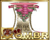 QMBR Wedding Candle G-P