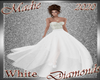 !a Diamonds Gown White