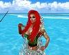 Ariel Mermaid Dark Green