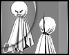 Animated Hanging Ghost