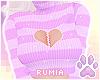 r. Broken Sweater Lilac