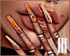 ♡ Jenner Nails Orange