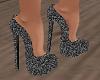 Black Glitter Shoes