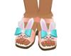 Kids Bunny Sandals