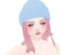 [CJ] PinkHair+BlueHat