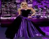 (MC) Purple design Gown