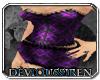 'DS Purple Silk & Lace