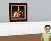 PinkPlush Anim Fireplace