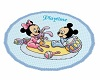baby mickey mouse rug