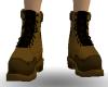 [ZE] Brown Hiker boots.