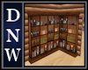 Country Oak Bookcase