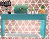 C| Teal Desk Goals