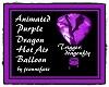 Purple Dragon Balloon