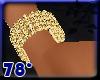 gold diamond bracelet R