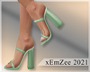 MZ - Spring Mint Heels