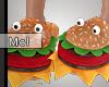 Mel*Burger Slippers/F