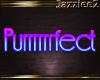 J2 Purrrrfect Neon Sign