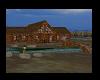 River front log home