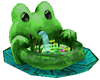 Frog Fountain anim.