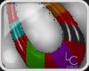 !LC™ Shana Earings-RainB
