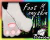 FFRISBEE THE FOOT m