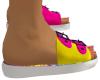 Child Tie Dye Sandals