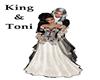 King & Toni 3D Statue