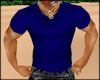 ~XAN~ JAX T-SHIRT BLUE