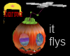 hallows fly by pumpkin