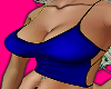 Busty Top Blue $