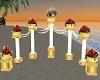 !AS! Wed Rose Columns