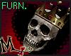 ex Heart King skull FRN