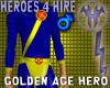 Golden Age Hero Suit
