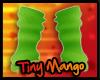 -TM- Green Arm Warmers