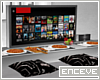 ENC. TV AND EAT TABLE