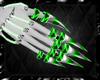 green cyborg claws F