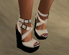 Tanned Wedge Sandal