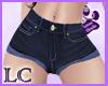 ! !!LC* Shorts azules
