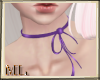 ML Purple Chocker